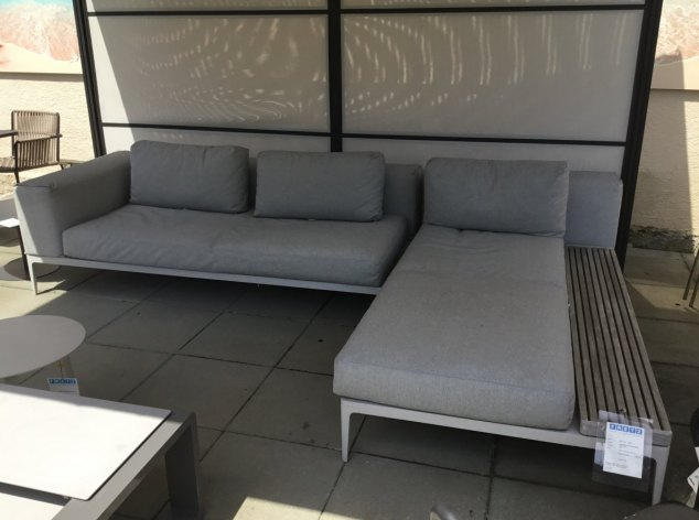 Outdoor-Sofa Grid Gloster