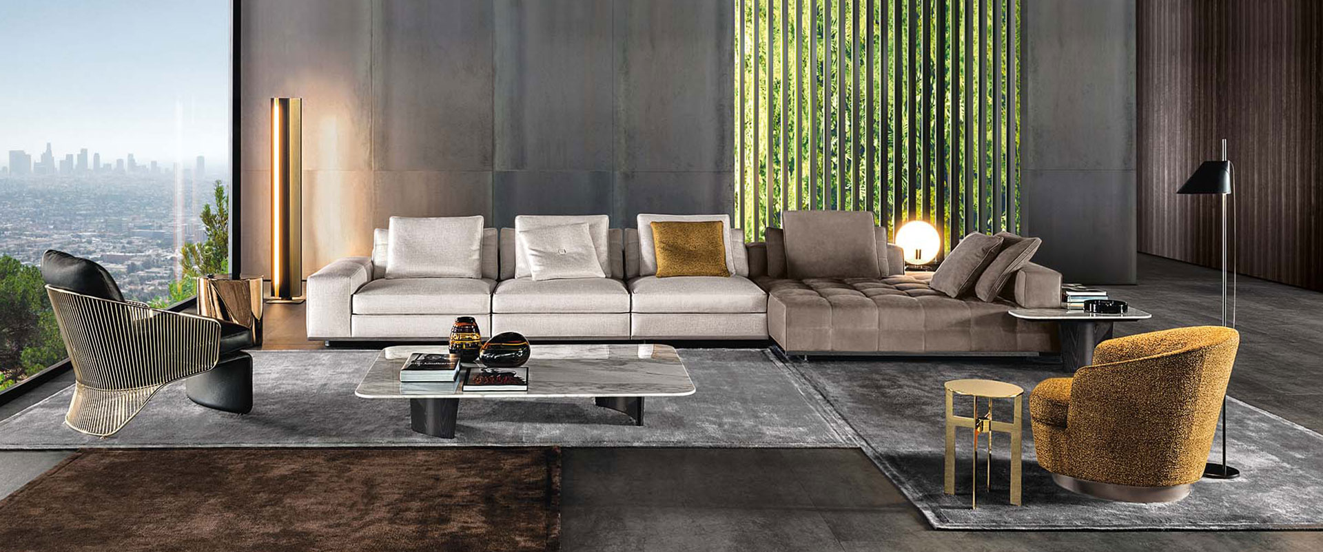 Einrichtungshaus Fretz, Wohnwelten, exklusives Wohndesign
