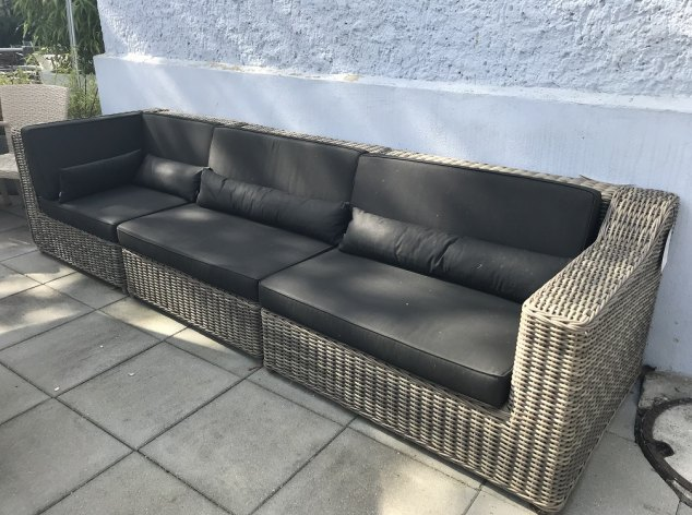 Outdoor-Sofa San Diego Manutti