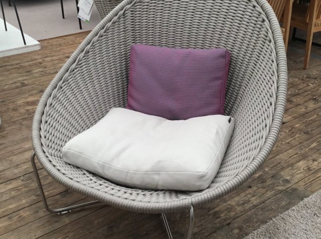 Outdoor-Sessel Nido Paola Lenti