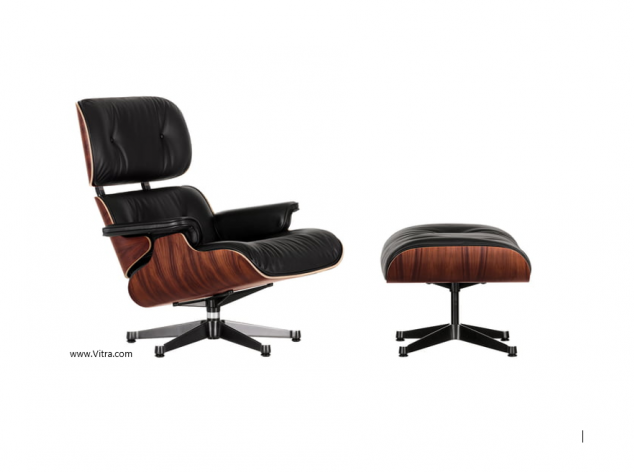 Sessel Lounge Chair & Ottoman Vitra