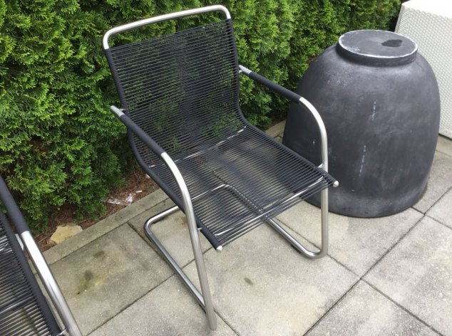 Outdoor-Stuhl 4x Swing Fischer
