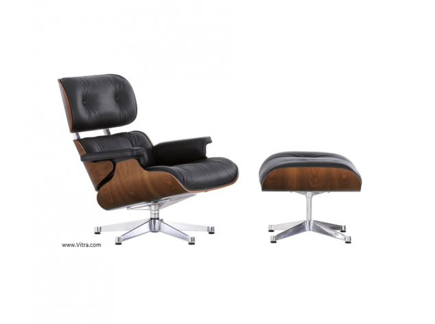 Sessel Lounge Chair & Ottoman Vitra, 2