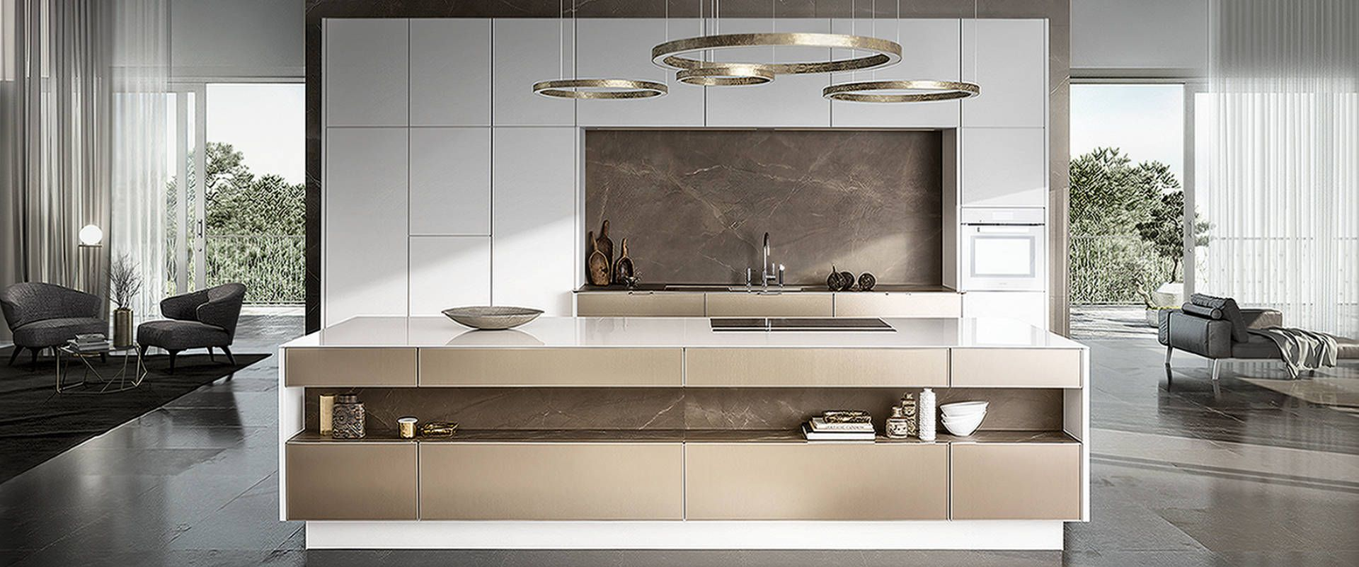 Siematic Pure Küche, Exklusive Kochwelten, FRETZ Konstanz am Bodensee