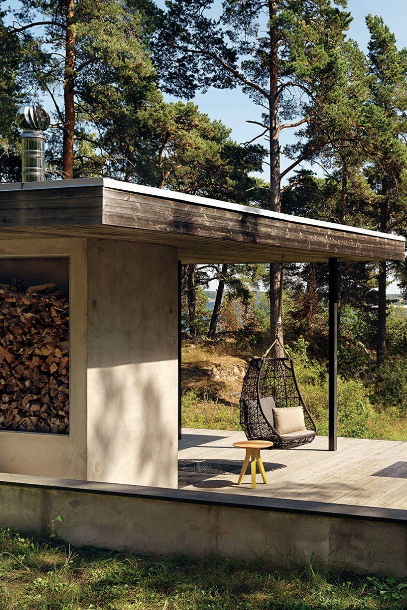 FRETZ, Exklusive Outdoor Möbel, Schwingstuhl