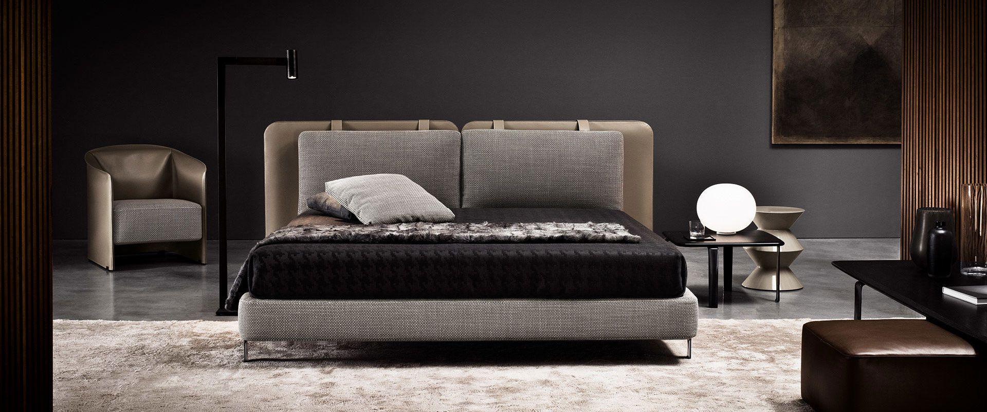 Designer Schlafzimmer, Minotti Betten
