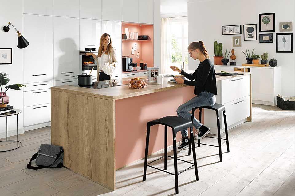 FRETZ, Exklusive Küchen, Helle Küche, wide