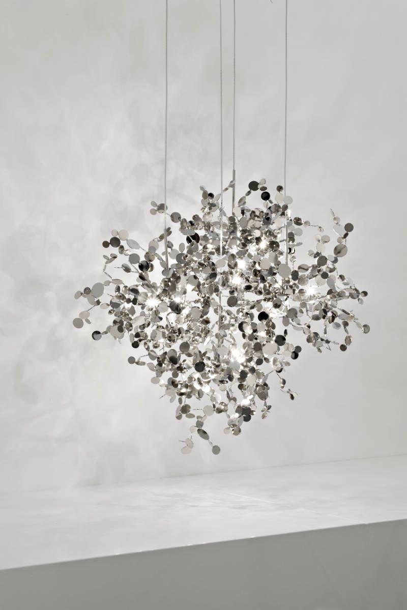 FRETZ Lichtwelten, Moderne Leuchten, Terzani Argent