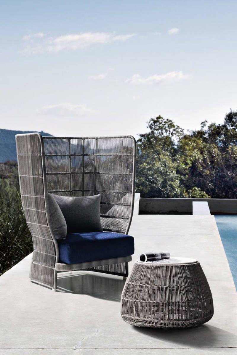 FRETZ, Exklusive Outdoor Möbel, Canasta
