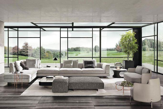FRETZ, Exklusive Wohnwelten, Minotti designer Möbel